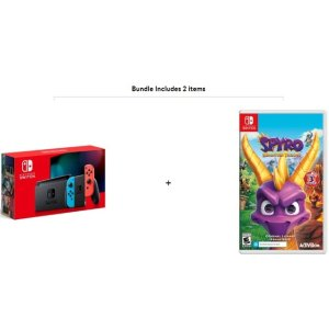 Nintendo Switch Console with Spyro Reignited Trilogy Game