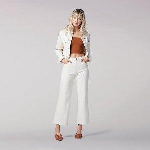Women's Vintage Modern Cropped Wide Leg Jean | Lee