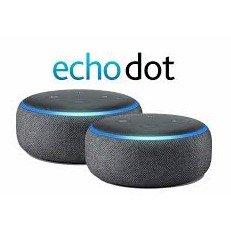 2个$29.98 (原价$99.99)Amazon Echo Dot 3代智能音箱