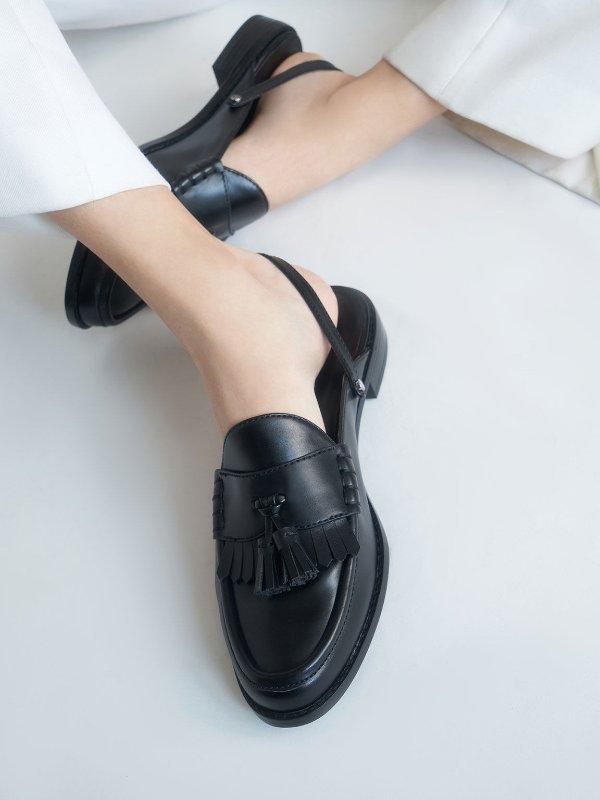 slingback 乐福鞋