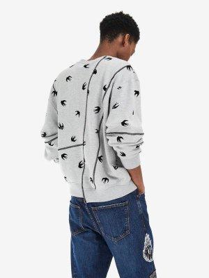 Cut Up Swallow Sweatshirt  McQ | Sweatshirt |    