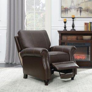 $329黒五价:Member's Mark 皮质休闲沙发躺椅