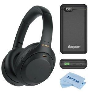 Sony WH-1000XM4 Wireless NC Headphones + Power Bank