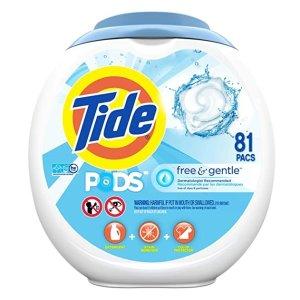 Tide PODS 敏感肌轻柔洗衣球81颗