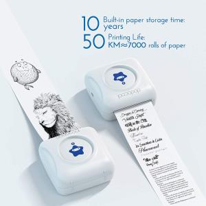 售价€32.9 效率超高!dodocool 热敏打印机 打印手帐、笔记、清单 即打印即使用!
