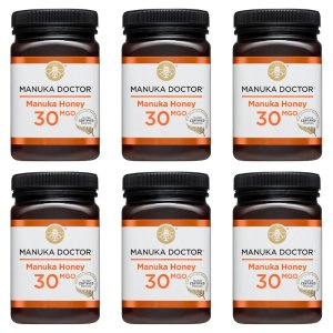 Manuka Doctor30 MGO蜂蜜500g 6罐