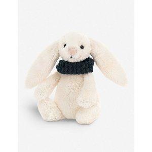 戴围巾小兔子