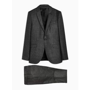 Topman深灰色西装裤