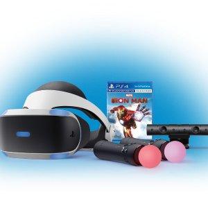 $349.99 成为托尼史塔克上新:PlayStation VR《漫威钢铁侠》套装 含双手柄+控制器