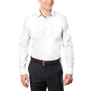 低至$10.49CK、Van Heusen 、Arrow等品牌 男士正装衬衫促销