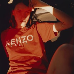 低至6折 Logo T恤$78Kenzo 秋冬男女时尚热卖,收潮牌的好时机