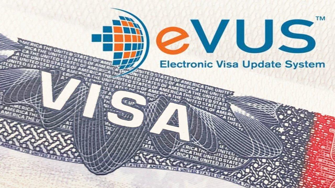 B1/B2  美国签证更新电子系统 EVUS 是什么?怎么办?超全步骤大公开