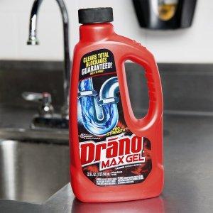 $8.45收2.37升Drano Max Gel 强力下水道疏通液  再也不怕掉头发
