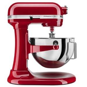 KitchenAidEmpire Red Professional 5™ Plus Series 5 Quart Bowl-Lift Stand Mixer KV25G0XER | KitchenAid