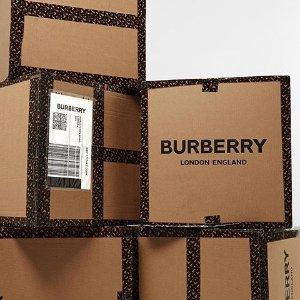 无门槛7.5折 收经典风衣独家:BURBERRY 服饰、包包、鞋履特卖