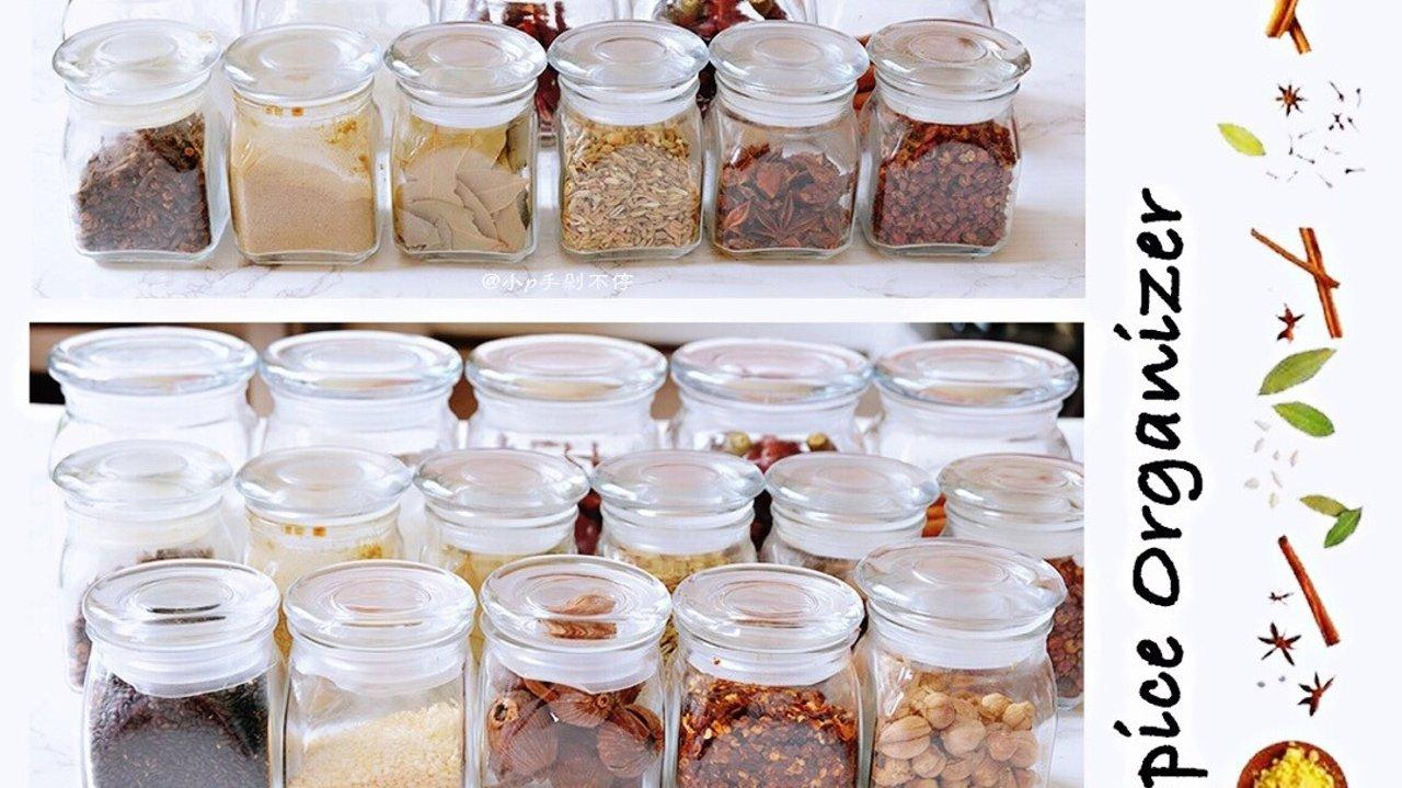 厨房收纳神器 | 高颜值厨房调料、餐具收纳,提高厨房颜值和空间就靠它们了!