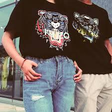 可凑情侣款+直邮中国Kenzo 新款虎头T恤年中热卖,经典潮服低至¥500+