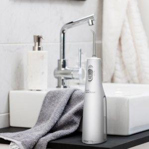 Waterpik Cordless Express Portable Water Flosser Oral Irrigator, White