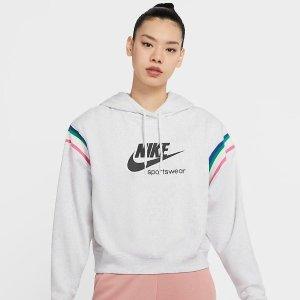 折扣区5.5折起 正价8折+晒单赢礼卡Nike 卫衣连帽衫专场大促 时尚百搭打底 又潮又酷