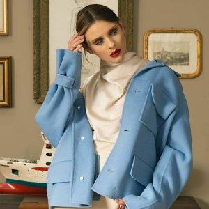 4折起+叠8折 €198收MaxMara风衣独家:Nugnes 折上折大促 收Gucci、Burberry、Moschino等