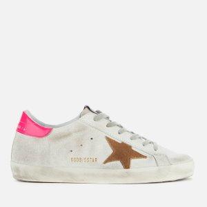 Golden Goose Deluxe Brand荧光粉小脏鞋