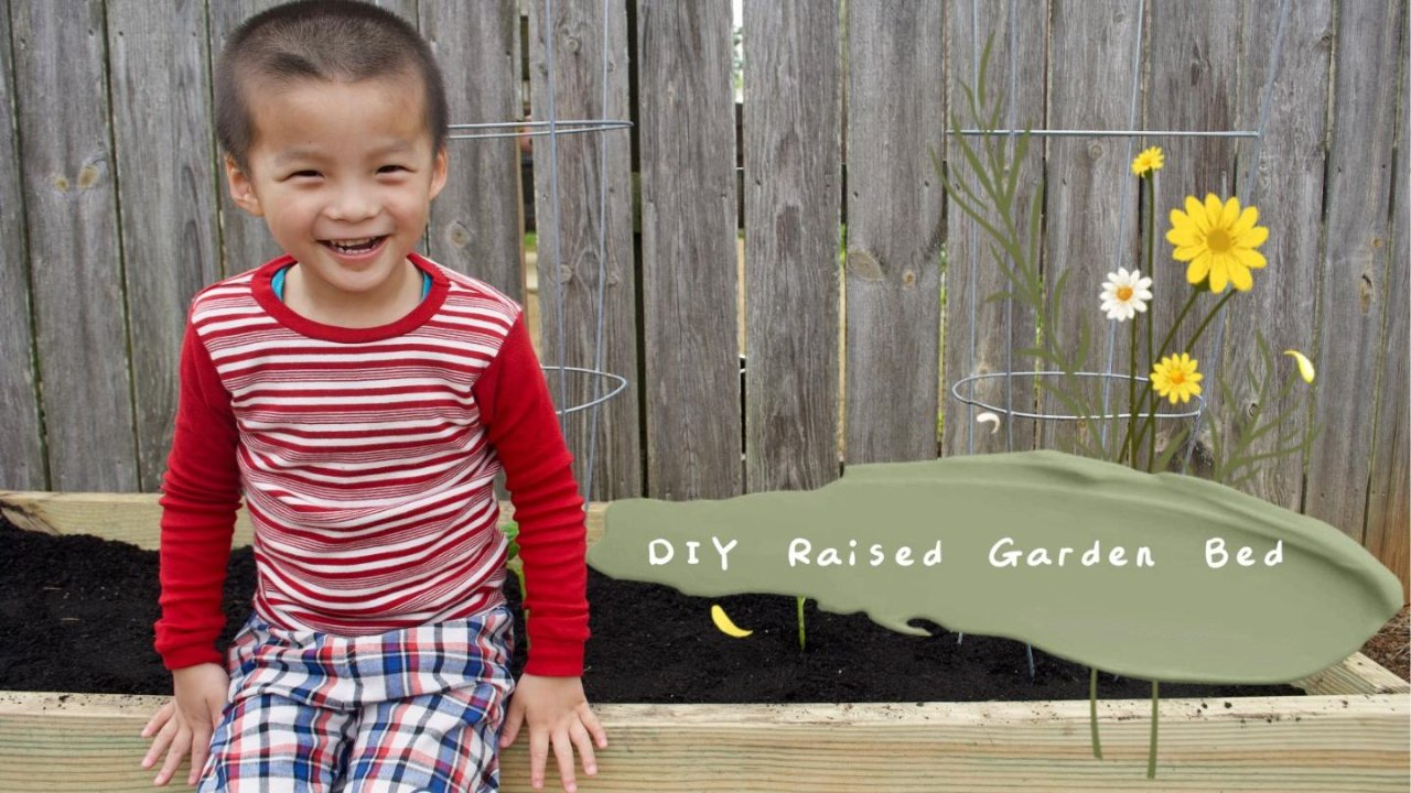 快手DIY Raised Garden Bed指南