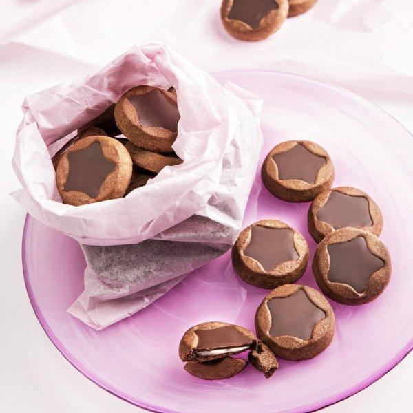 夹心巧克力饼干