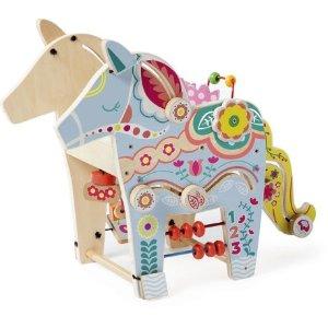 Manhattan Toy木质小马儿童串珠玩具