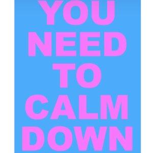 霉霉和水果姐竟然和解了?!霉霉Taylor Swift 新单曲MV《You Need To Calm Down》上线