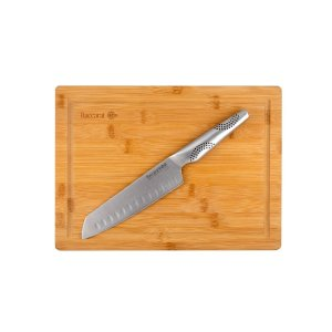 Baccarat日式刀+竹砧板