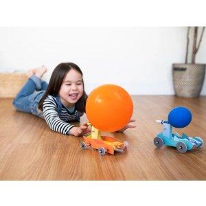 kiwico气球动力车,适合年龄 5-8