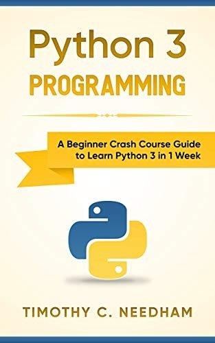 Python 3 编程:一周入门教程
