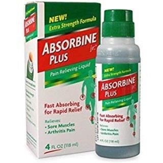 $6.54 免邮Absorbine Jr. 肌肉关节止痛药水 4 oz.