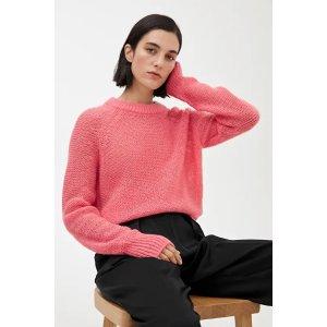 arket粉色羊毛毛衣