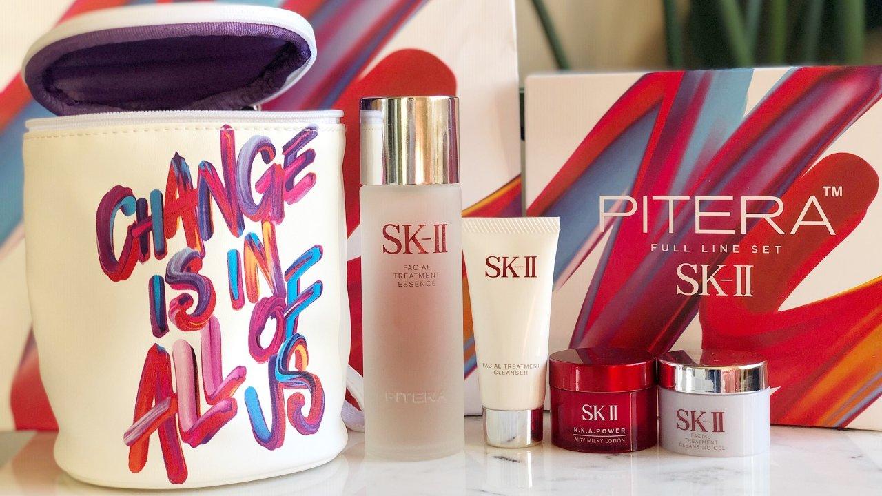 让你的肌肤从此开始晶莹剔透之旅 | SK-II改变命运限量涂鸦圣诞套装测评