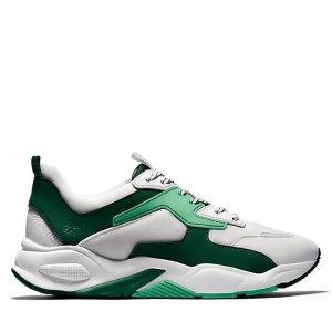 Timberland36-39码白绿撞色运动鞋