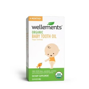 Wellements® Organic Baby Tooth Oil