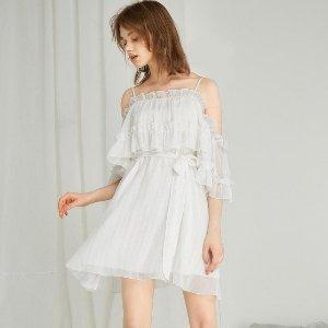 低至3折+额外最高立减$75 温柔似水ONE MORE 小清新连衣裙、上衣热卖