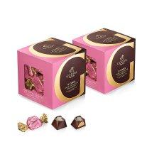 G Cube草莓夹心黑巧克力 各22粒装 2盒
