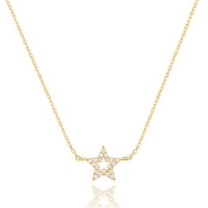 New Tricks Star Necklace in Gold
