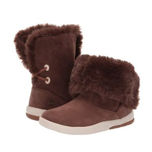 $14.1(原价$91.25)Timberland 儿童真皮雪地靴