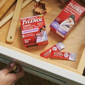8折 儿童感冒药$5.03限本周:Tylenol 泰诺家中常备药 止痛药10片$1.99 日夜感冒药$7.99