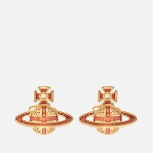 Vivienne Westwood小土星耳环