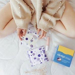 立减$3 干爽舒适超吸收Always Infinity 液体卫生巾 多种长度可选