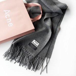 免邮+定价优势 西太后围巾$150上新:SSENSE 围巾专场 缤纷新配色 Gucci、Acne、Burberry