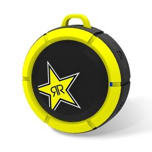 悬浮式设计 仅$13.99(原价$39.99)SCOSCHE X ROCKSTAR 联名款防水mini蓝牙音箱