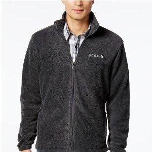 $29.99(原价$60.00)Columbia 男款户外休闲运动抓绒衣促销 多色可选
