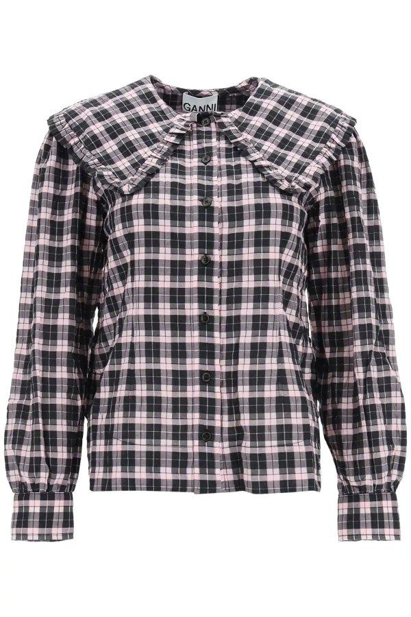 tartan 格纹衬衫