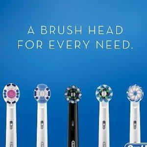 $18.65/5支装+免邮团购:Oral-B 电动牙刷替换头套组 7款刷头任你选 每支只要$3.7