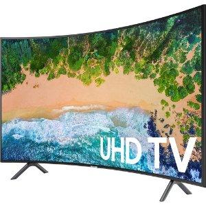 "Samsung 55NU7300 Curved 55"" 4K UHD 7 Series Smart TV 2018"